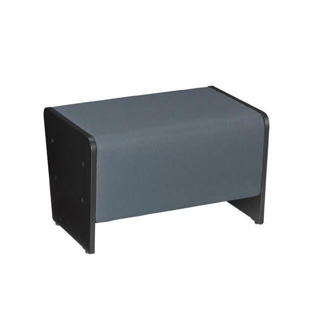 Nowystyl Module banquette Ergomob gris petit modèle