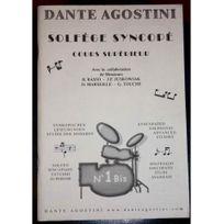 Agostini - Solfege Syncopé Volume 1 Bis