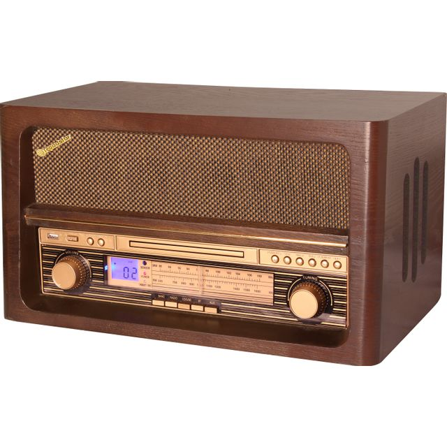 roadstar radio retro vintage ebenisterie bois bluetooth hra 1540ue bt pas cher achat vente. Black Bedroom Furniture Sets. Home Design Ideas