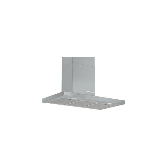 Bosch Hotte Deco Murale Box 90 721m3/h A+ Inox - Dwb97cm50