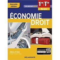 Delagrave - les parcours pro ; économie, droit ; 1re, terminale bac professionnel ; pochette élève 3e édition