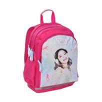 Violetta - Sac à dos scolaire cartable école fille enfant Disney - Rose