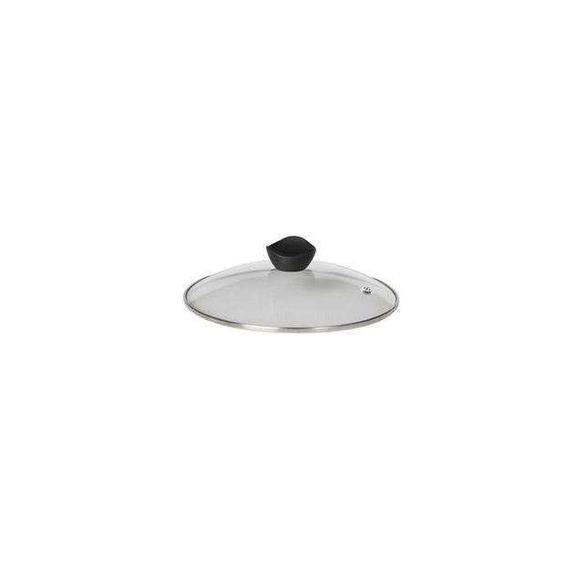 Cookut Couvercle en verre avec trou vapeur 20 cm