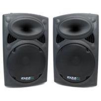 """Ibiza Sound - Paire d'enceintes 15"""" / 38 cm 700W Ibiza Slk-15"""