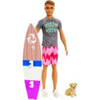 MATTEL - Ken surfeur et son chien