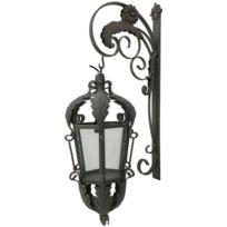 grande lanterne exterieur achat grande lanterne exterieur pas cher soldes rueducommerce. Black Bedroom Furniture Sets. Home Design Ideas