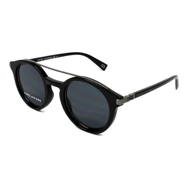 Marc Jacobs - Lunettes de soleil Marc-173-S 284 IR Femme Noir - pas ... 7e127b8cc214