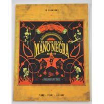 Bookmakers International - Partition Lo Mejor de/Best of Mano Negra - Piano Voix Guitare