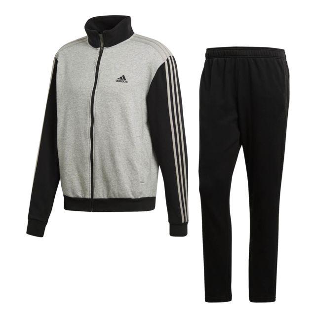 fcba1c09c14 Adidas - Survêtement Co Relax - pas cher Achat   Vente Survêtement homme -  RueDuCommerce
