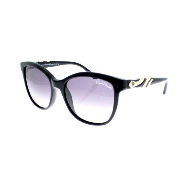 Roberto Cavalli - Rc 877S 01B - Lunettes de soleil femme Noir - pas cher  Achat   Vente Lunettes Tendance - RueDuCommerce cefb7b2cfbb1
