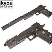 KYOU - Rep adaptateur silencieux métal pour GBB we