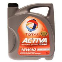 Total - Bidon 5 litres d'huile moteur Activa 5000 15W40