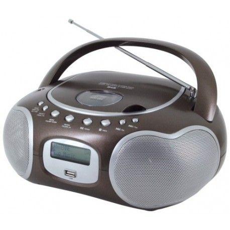 Soundmaster Scd4200BR marron
