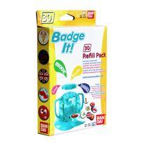 BADGE IT! - Recharge ! 30 badges Jaune - 33301