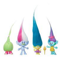 Trolls - Cheveux dements pack de 4 - B7364EL20
