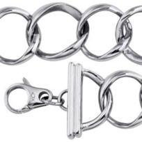 Xc38 - Bracelet Xc 38 En Acier Pour Femme