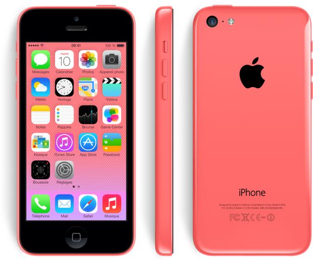 APPLE - iPhone 5C - 32 Go - Rose - Reconditionné