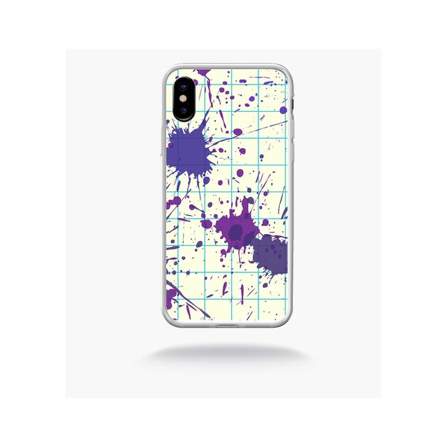 coque abstrait iphone x