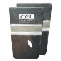 Cel - Ac14 Spatule En Acier Inoxydable Lot De 2