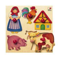 Selecta - Encastrement 5 pièces en bois : Ferme