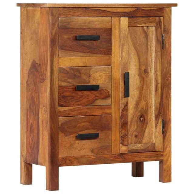 Chic Armoires & meubles de rangement edition Nicosie Buffet 65 x 30 x 80 cm Bois solide de Sesham