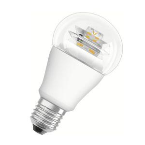 osram ampoule led standard 10w 60w culot e27 verre transparent blanc chaud star pas cher. Black Bedroom Furniture Sets. Home Design Ideas
