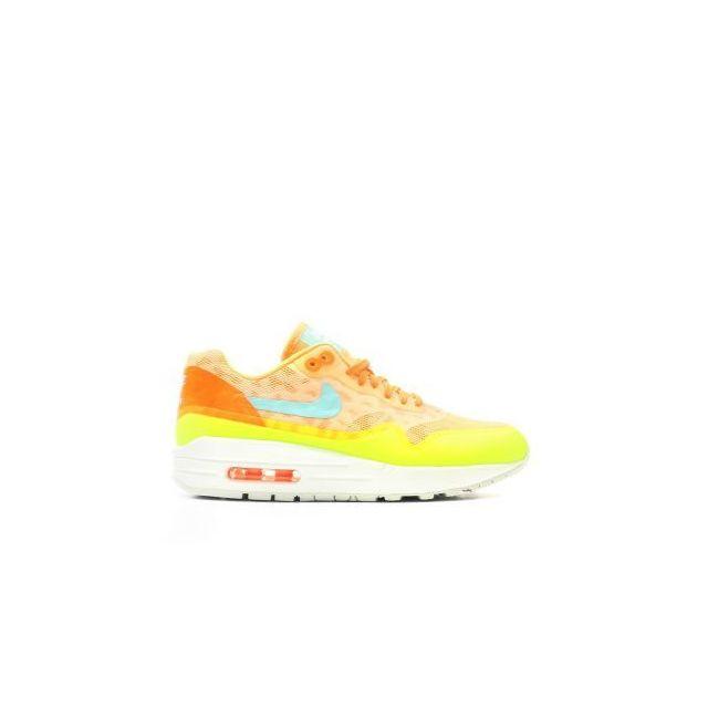 5fb81a839c125 Nike - Air Max 1 Ns - 844982-800 - Age - Adulte, Couleur - Orange, Genre -  Femme, Taille - 36,5 - pas cher Achat / Vente Baskets femme - RueDuCommerce