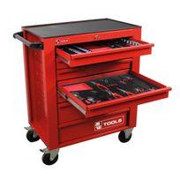 Mw-tools - Servante d atelier complète 444 outils professionnelle modules mousse Mwt444FR