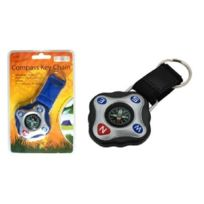 Boyz Toys - Gone Outdoors - Compass Key Chain