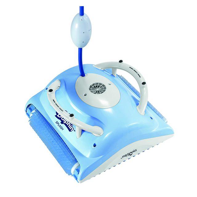 Dolphin robot electrique de piscine fond splash pas cher achat vente robot lectrique - Robot piscine pas cher electrique ...