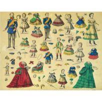 Schreiber-bogen - Maquette en carton : Kit de poupées Friedrich Wilhelm