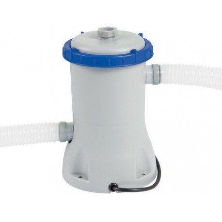 Best Way - Piscine tubulaire splash Bestway 3 m x 2,01 m x 66 cm avec filtre à cartouche