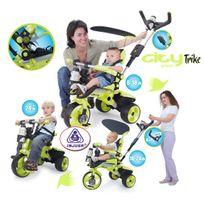 INJUSA - Tricycle évolutif CITY GREEN