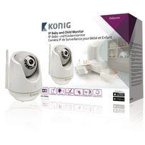 König - Caméra Ip de surveillance pour bébé et enfant Konig Kn-bm60