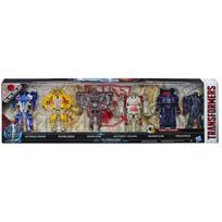 Pack de 6 figurines Turbo Changer - H 11 cm - C2034