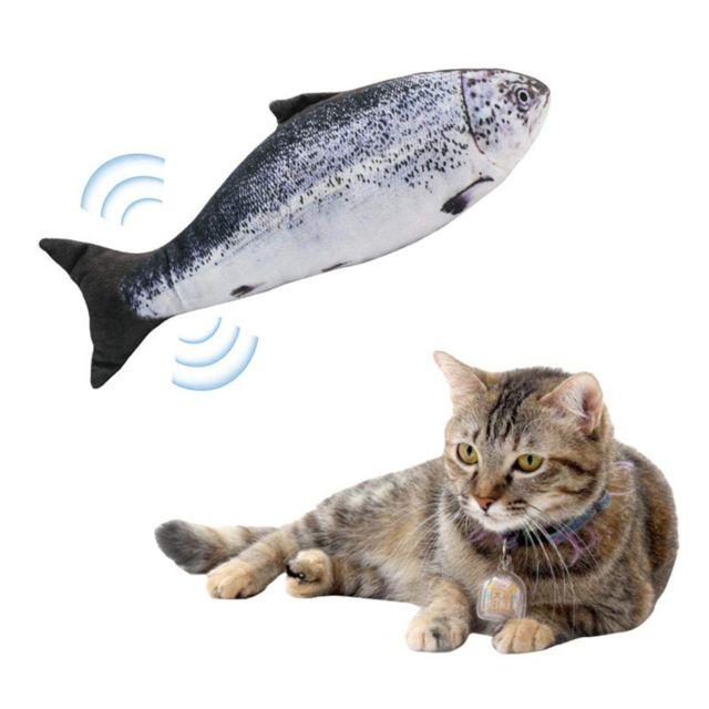 5x Chat Chat Chaton électrique Poisson Jouets Chat Kicker Teaser Jouets Pour Chat Animal De Compagnie