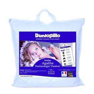 dunlopillo orfgdn060060dpo2 fusion oreiller blanc 60 x 60 cm naissance pas cher achat. Black Bedroom Furniture Sets. Home Design Ideas