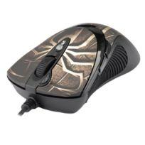 A4Tech - A4 Tech Souris laser gamer 7 boutons 3600 dpi Usb Noir
