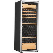 Artevino - Cave à vin multi-usages - 3 temp 200 bouteilles - Noir Aci-art223M - Pose libre