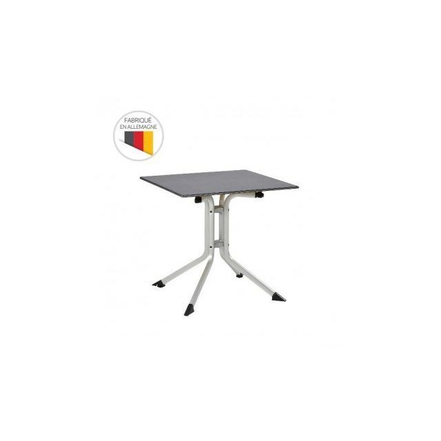 Kettler - Table de jardin pliante Advantage 70 x 70 x 74 cm en ...