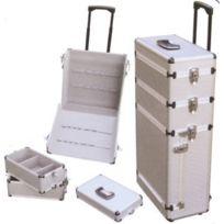 VISO - VISIO-Trolley + servante 3 niveaux aluminium-SGC8394