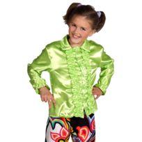 Magic By Freddy'S - Chemise Enfant Disco Verte Taille 1164/6 ans 102 à 114 cm