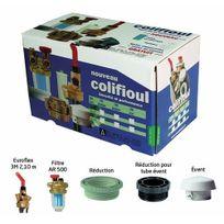 Afriso Eurojauge - Kit Colifioul avec filtre F/F - pour cuve plastique