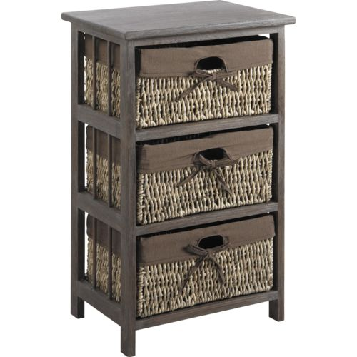 aubry gaspard commode 3 tiroirs ethnie marron pas cher achat vente commode rueducommerce. Black Bedroom Furniture Sets. Home Design Ideas