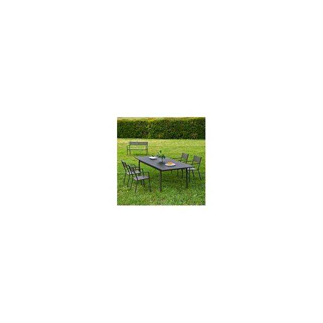 Oasi by Emu - Salon de jardin avec table extensible 200 ...