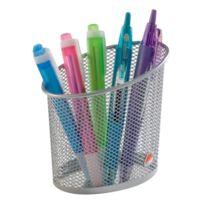 Alba - Pot à crayons Mesh couleur 1 compartiment