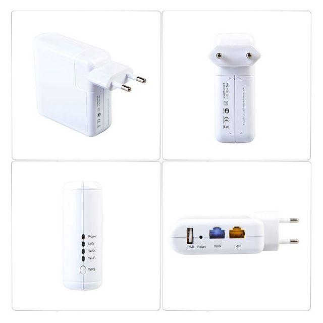 Nouvelle arrivée 802.11N 150Mbps Ralink RT5350 3G Mini Routeur WiFi