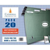 Cathedral - Dossier suspendu Papier ministre Lot de 20 Import Royaume Uni