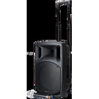 Bst - Nomad12UHF. Sono active nomade avec lecteur cd, bluetooth et 2 microphone Uhf 12¨/30CM - 400W
