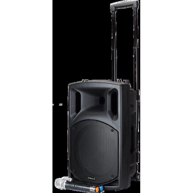 Bst Nomad12UHF - Sono active nomade avec lecteur cd, bluetooth et 2 microphone Uhf 12¨/30CM - 400W